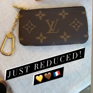 JUST REDUCED! Brand new Louis Vuitton Key Pouch